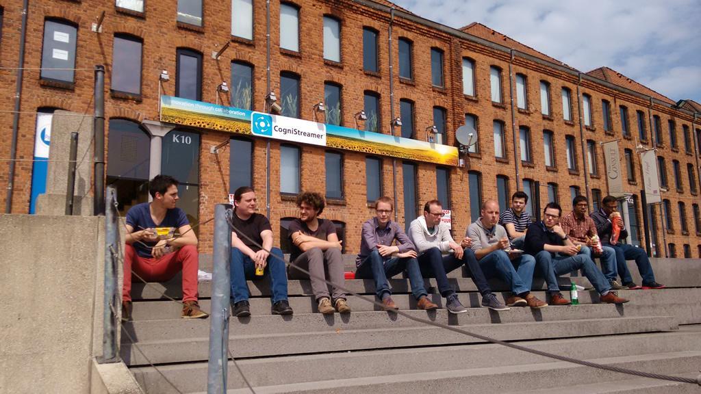 Visit to CogniStreamer NV, Kortijk, Belgium