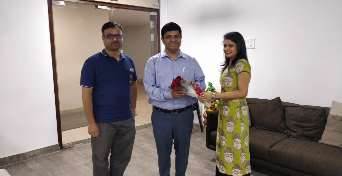 Shri Surendra Mohan, IAS visited Our Office
